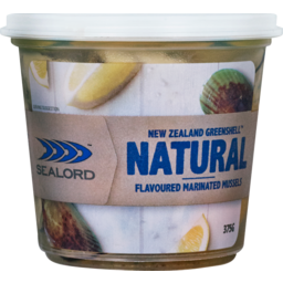 Photo of Sealord Marinated Mussels Natural Flavour 375g