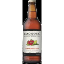 Photo of Rekorderlig Straw/Lime Cider 500ml X1