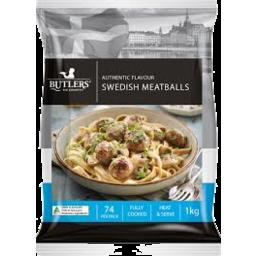 Photo of Butlers Swedish Meatballs 1kg
