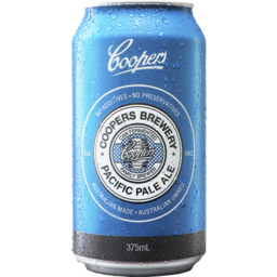 Photo of Coopers Pacific Pale Ale 375ml