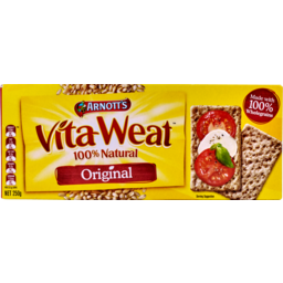 Photo of Arnotts Vita Weat Crispbread Original 250g