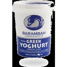 Photo of Barambah Yoghurt - Sweetened Greek