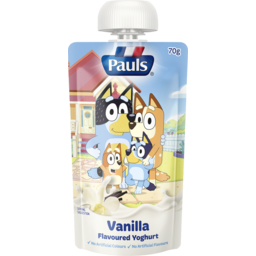 Photo of Pauls Squeezie Kids Vanilla Yo 70gm
