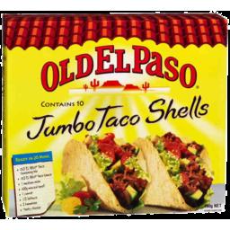 Photo of Old El Paso Jumbo Taco Shells 10 Pk