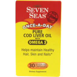 Photo of Seven Seas Cod Liver Oil With Omega