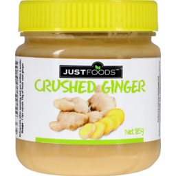 Photo of Just Foods Crushed Ginger 185g