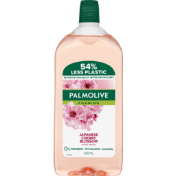 Photo of Palmolive Liquid Hand Wash Foaming Cherry Blossom Refill 500ml