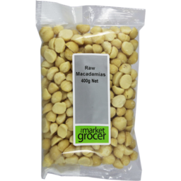 Photo of The Market Grocer Raw Macadamias 400gm