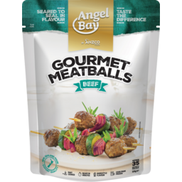 Photo of Angel Bay Gourmet Beef Meatballs 35 Pack 525g