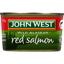 Photo of John West Wild Alaskan Red Salmon 210g 210g