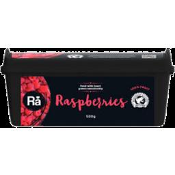 Photo of R/Alliance Frzn Raspberries 500gm