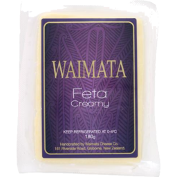 Photo of Waimata Feta Creamy Style 180g