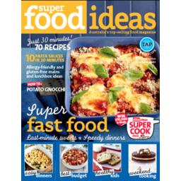 Photo of Super Food Ideas Magazine