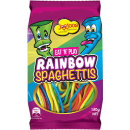 Photo of Joo Joos Rainbow Spaghettis 150g