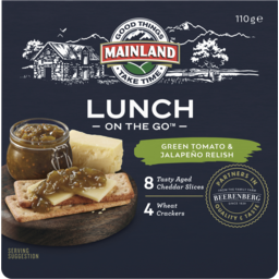 Photo of Mainland Lunch On The Go Green Tomato & Jalapeño Relish 110 G