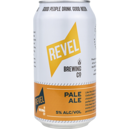 Photo of Revel Brewing Pale Ale Cans