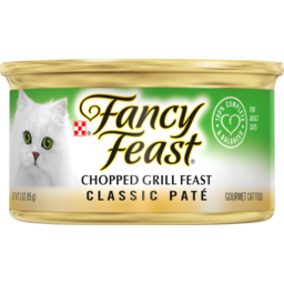 Photo of Fancy Feast Cat Food Chopped Grill Feast 85g