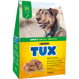 Photo of Tux Dog Food Dry Original Small Biscuit 2.5kg