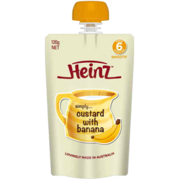 Photo of Heinz Simply Banana Custard 120gm
