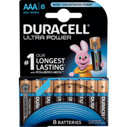 Photo of Duracell Battery Ultra Power Aaa 8pk
