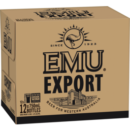 Photo of Emu Export Bottles