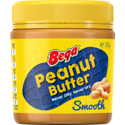 Photo of Bega Peanut Butter Smooth 375g 375g