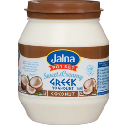 Photo of Jalna Yoghourt Greek Sweet & Creamy Coconut 1kg