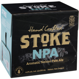 Photo of Stoke Nelson Pale Ale 4.2% 330ml Bottles 12 pack