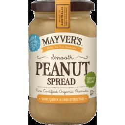 Photo of Mayver's Organic Peanut Spread Smooth 375gm