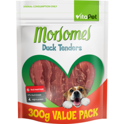 Photo of Vitapet Moresomes Dog Treats Duck Tenders 300g