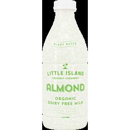 Photo of Little Island Almond Dairy Free 1L