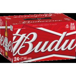 Photo of Budweiser Beer Bottles