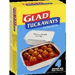 Photo of Glad Tuckaways Foil Trays 4s