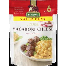Photo of San Remo La Pasta Macaroni Cheese Pasta & Sauce 160g