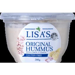 Photo of Lisas Hummus Gluten Free Original 200g