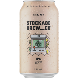 Photo of Stockade 8 Bit IPA Can