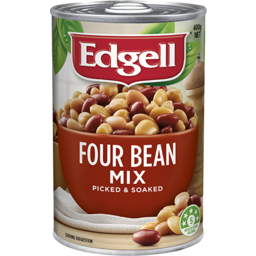 Photo of Edgell Four Bean Mix 400gm