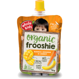 Photo of Whole Kids Carrot Frooshie  90g
