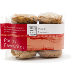 Photo of Whisk & Pin Muesli Cookies 500gm