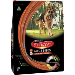 Photo of Supercoat Adult Large Breed Chicken Dry Dog Food 7.5kg