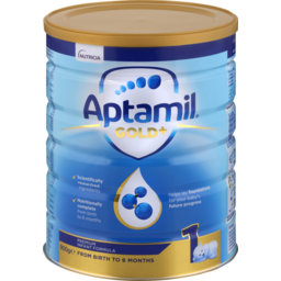 Photo of Nutricia Aptamil Gold+ 1 Baby Formula Infant 0-6mth 900g