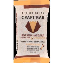 Photo of The Original Craft Bar Roasted Hazelnut & Chocolate Single 65g