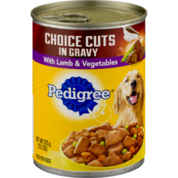 Photo of Pedigree Choice Cuts In Gravy With Lamb & Vegetables Dog Food