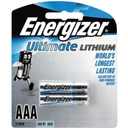 Photo of Energizer Lithium AAA 2pk