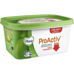 Photo of Flora Proactiv Low Salt Spread 500g