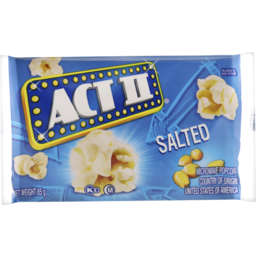 Photo of Act Ii Salted Microwave Popcorn 85g