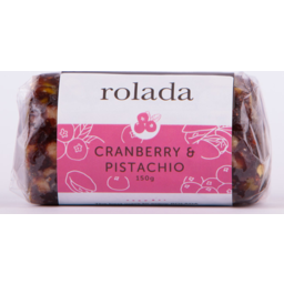 Photo of Rolada Cranberry Pistachio 150gm