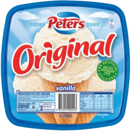 Photo of Peters Original Vanilla 4l