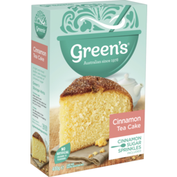 Photo of Green's Cinnamon Tea Cake Mix 400g