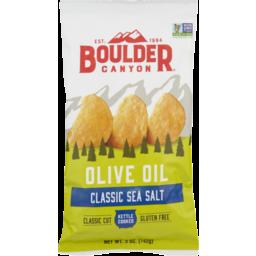 Photo of Boulder Chips Olive Oil Sea Salt 149g